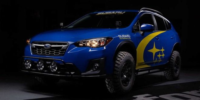 Subaru Crosstrek (XV) mit Crawford CDR Series Lift-Kit!