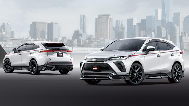 TRD Tuning Parts 2021 Toyota Venza Harrier SUV 22 Bestätigt: TRD Tuning Parts für das 2021 Toyota Venza SUV!