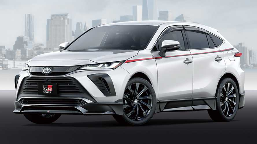 TRD Tuning Parts 2021 Toyota Venza Harrier SUV 27 Bestätigt: TRD Tuning Parts für das 2021 Toyota Venza SUV!