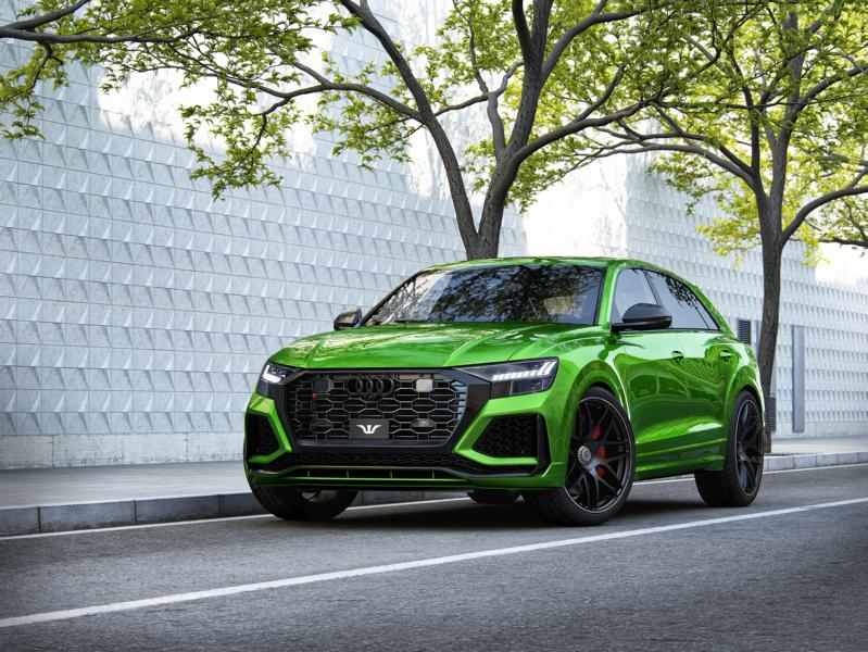 "Wheelsandmore AUDI RS Q8 GOLIATH Tuning 24 Zoll 5 Wheelsandmore AUDI RS Q8 ""GOLIATH"" mit +1.000 PS!"