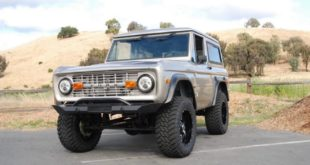 1970er Ford Bronco Restomod Explorer Tuning 7 310x165 1976 Ford Bronco Restomod im schicken Ruby Red!