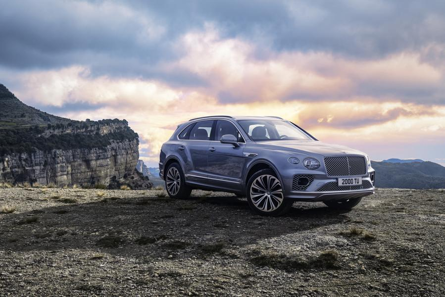 2020 Bentley Bentayga Luxus SUV Facelift Tuning 32 2020 Bentley Bentayga Luxus SUV mit 550 PS & 700 NM!