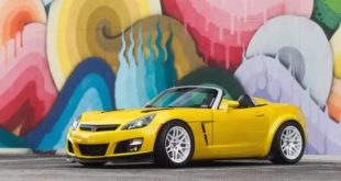 2JZ V6 Power im Widebody Saturn Sky Opel GT 310x165 Video: 2JZ V6 Power im Widebody Saturn Sky (Opel GT)