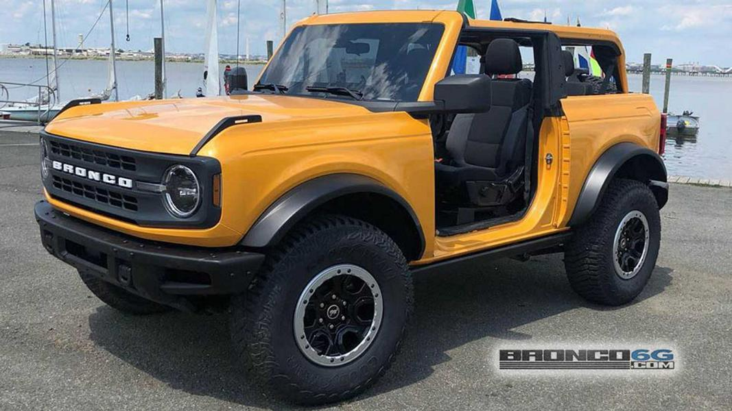 35 Zoll Offroad Reifen 2021 Ford Bronco Tuning 7 Video: 35 Zoll Offroad Reifen am neuen 2021 Ford Bronco!
