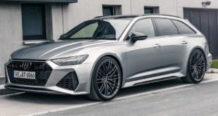 ABT Sportsline Audi RS6 Avant C8 Header 310x165 More sound and cornering dynamics in the ABT Audi RS6 Avant!