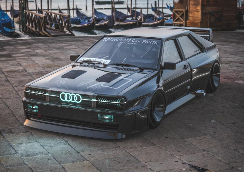Audi Ur quattro Widebody 4 2020 Widebody Audi Ur quattro with side pipes & turbofans