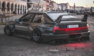 Audi Ur quattro Widebody 5 190x114 2020 Widebody Audi Ur quattro with side pipes & turbofans