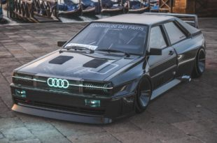 Audi Ur quattro Widebody Header 310x205 2020 Widebody Audi Ur quattro mit Sidepipes & Turbofans
