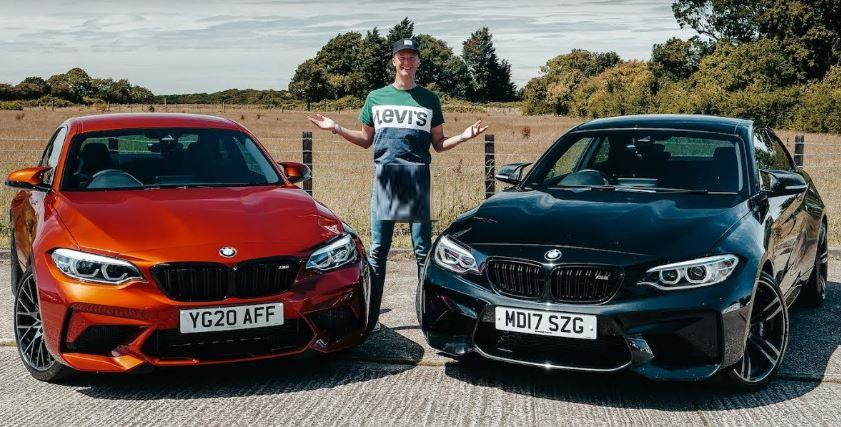BMW M2 Competition vs. BMW M2 Video: 410 PS BMW M2 Competition vs. 370 PS BMW M2!