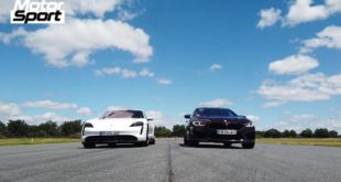 BMW M8 Gran Coup%C3%A9 F93 vs. Porsche Taycan Turbo S 310x165 Video: Shelby F 150 Super Snake vs. Chevrolet Corvette C8!