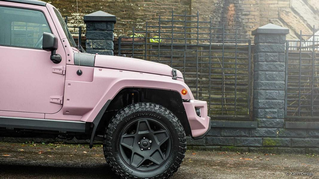 Chelsea Truck Company Jeep Wrangler PINK Tuning mum car 9 Pink Panther: Chelsea Truck Company Jeep Wrangler in PINK!