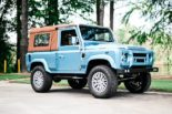 Defender 90 Replika OCC V8 Tuning 2 155x103 OCC Land Rover Defender 90 Replika mit V8 in Himmelblau!