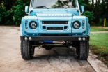 Defender 90 Replika OCC V8 Tuning 3 155x103 OCC Land Rover Defender 90 Replika mit V8 in Himmelblau!