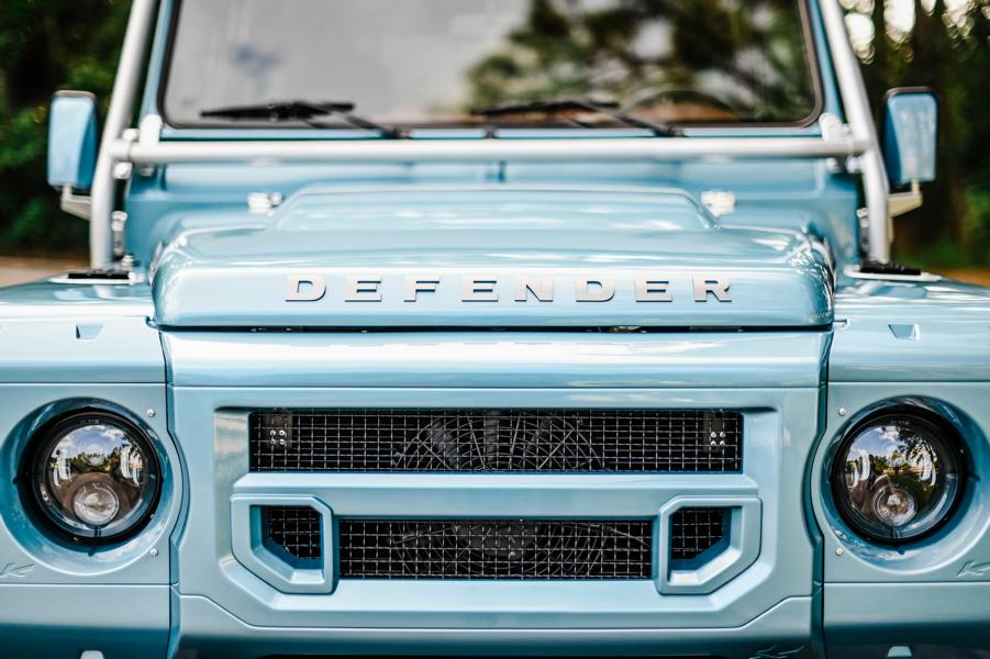 Defender 90 Replika OCC V8 Tuning 5 OCC Land Rover Defender 90 Replika mit V8 in Himmelblau!