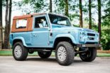 Defender 90 Replika OCC V8 Tuning 7 155x103 OCC Land Rover Defender 90 Replika mit V8 in Himmelblau!