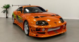 Fast Furious Paul Walker Toyota Supra MK4 Replica Header 310x165 Engine exchange: Tesla E drive in a Toyota Supra (JZA80)