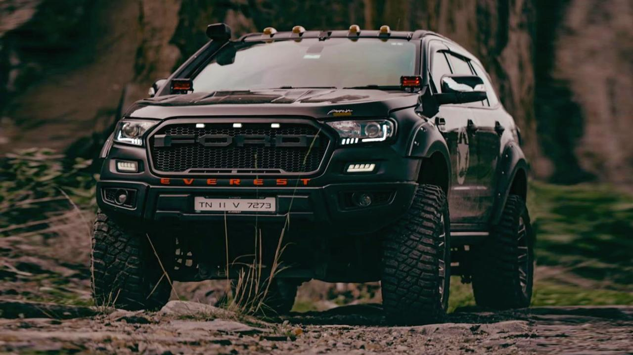 Ford Everest SUV 2020 Ranger Bodykit Idumban Header Einzelstück: Ford Everest SUV als 2020 Ranger Umbau!