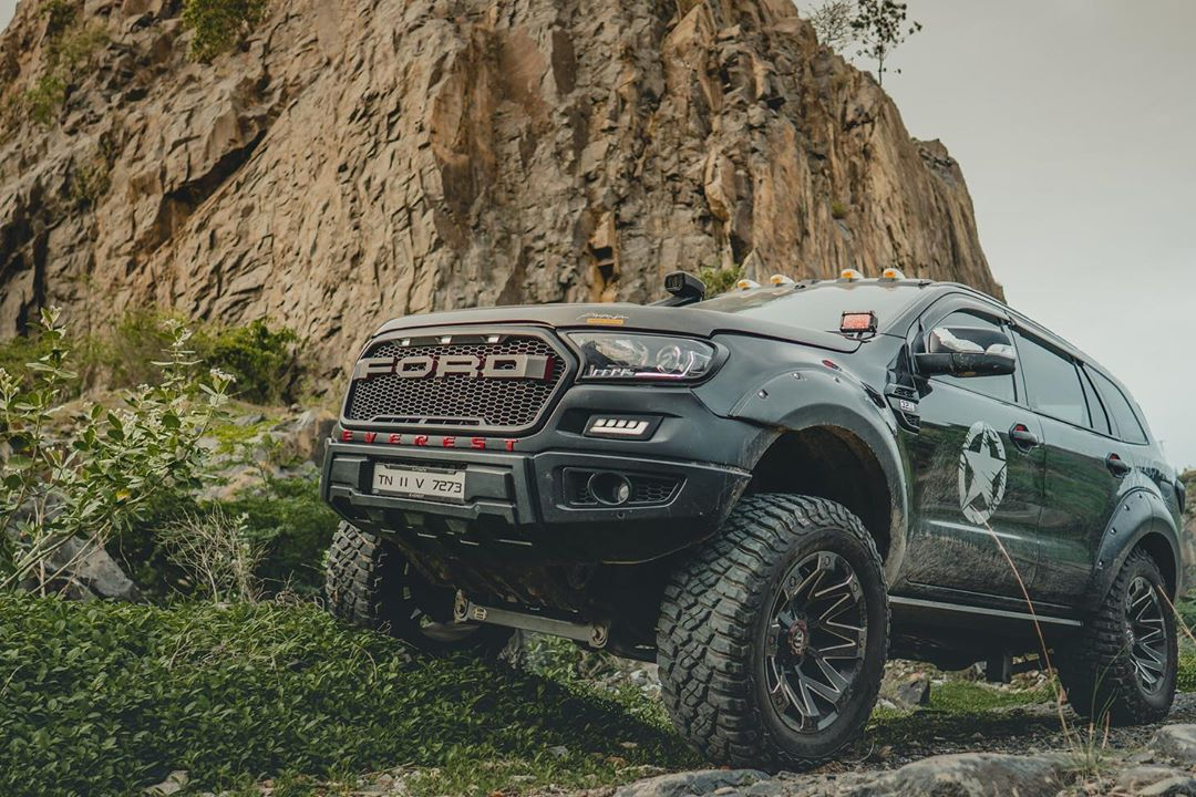 Ford Everest SUV as 2020 Ranger Bodykit Idumban Tuning 12 Einzelstück: Ford Everest SUV als 2020 Ranger Umbau!