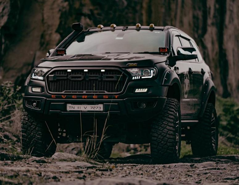 Ford Everest SUV as 2020 Ranger Bodykit Idumban Tuning 14 Einzelstück: Ford Everest SUV als 2020 Ranger Umbau!