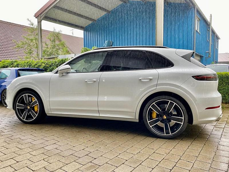 HGP Porsche Cayenne Turbo PO536 Tuning Stage 2 3 HGP Porsche Cayenne Turbo mit 962 PS & 1.250 NM!