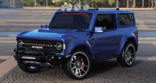 Hennessey Tuning Parts 2021 Ford Bronco V6 V8 310x165 Hennessey Tuning Parts für den 2021 Ford Bronco geplant!