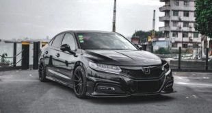Honda Spirior Tuning Header 310x165 Honda Spirior in schwarzer Optik: Japan Limo im Stealth Bomber Look!