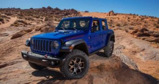 Jeep Wrangler and Gladiator with 2 inch lift kit 1 310x165 Mopar brake control for trailers for the Jeep Gladiator