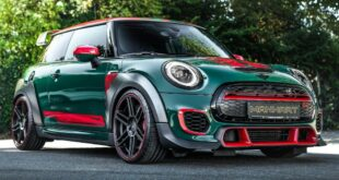 Manhart GP3 F350 Mini JCW GP British Racing Green 15 310x165 MINI John Cooper Works GP als 350 PS Manhart GP3 F350