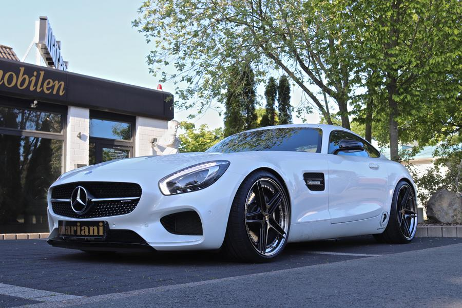 Mariani Mercedes AMG GT R Chiptuning Klappenanlage Felgen 2 Mariani Mercedes AMG GT R mit 600 PS und Klappenanlage!