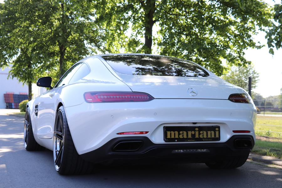 Mariani Mercedes AMG GT R Chiptuning Klappenanlage Felgen 5 Mariani Mercedes AMG GT R mit 600 PS und Klappenanlage!