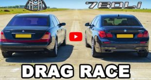 Maybach 62 gegen BMW 760Li F01 310x165 Video: Drag Race Maybach 62 gegen BMW 760Li (F01)