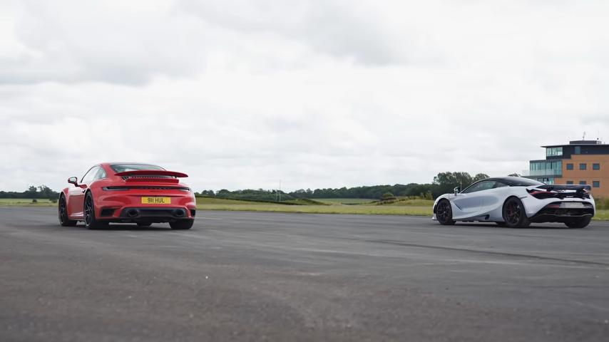 McLaren 720S vs. 2020 Porsche 911 Turbos S 992 Video: McLaren 720S vs. 2020 Porsche 911 Turbos S (992)