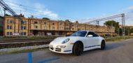 Porsche 911 999 Carrera 4S OZ Leichtbaufelgen Tuning 190x90 Porsche 911 (997) Carrera 4S auf OZ Leichtbaufelgen!