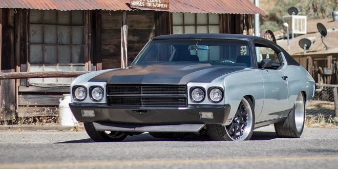 Video: Restomod 1970 Chevrolet Chevelle mit LS3-V8!