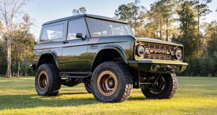 Restomod 1976 Ford Bronco V8 Crate Engine Tuning Header 310x165 Mopar Dodge Challenger Drag Pak kommt erst 2021