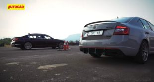 Skoda Octavia RS BMW 745Le Hybrid 1 310x165 Video: 400 PS Skoda Octavia RS vs. BMW 745Le Hybrid!