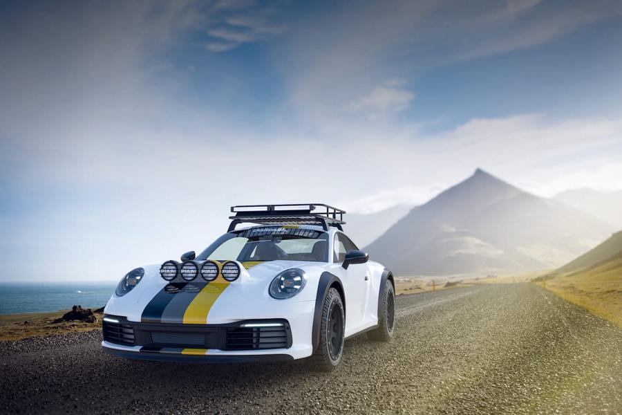 delta 4x4 Porsche 911 994 Carrera Dakar Tuning Umbau Höher statt tiefer – ein Porsche 911 (992) auf Abwegen