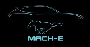 mustang mach e logo 310x165 Video: RTR Vehicles Teaser zu einem Ford Mustang Mach E?