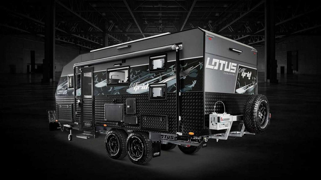 2020 Lotus Caravans Off Grid Luxus Camper 13 Brandneu! Der 2020 Lotus Caravans Off Grid Luxus Camper!