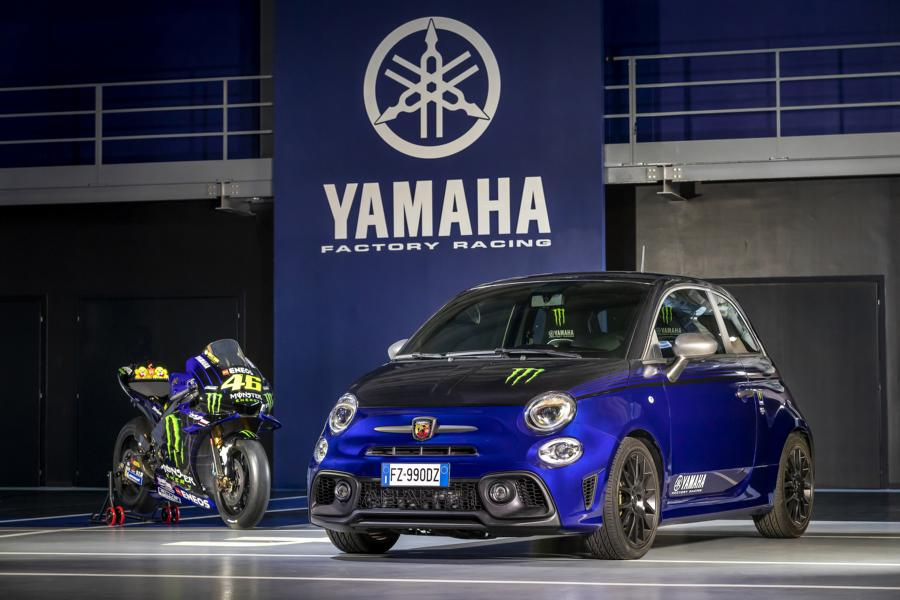 Abarth 595 Monster Energy Yamaha 0 Abarth 595 Scorpioneoro und 595 Monster Energy Yamaha