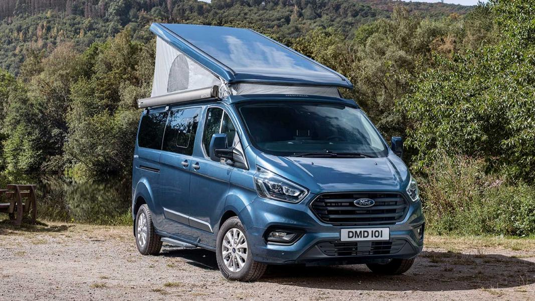Pop top roof Ford Nugget Plus 2020 Camping These 7 mistakes almost every camping beginner makes!