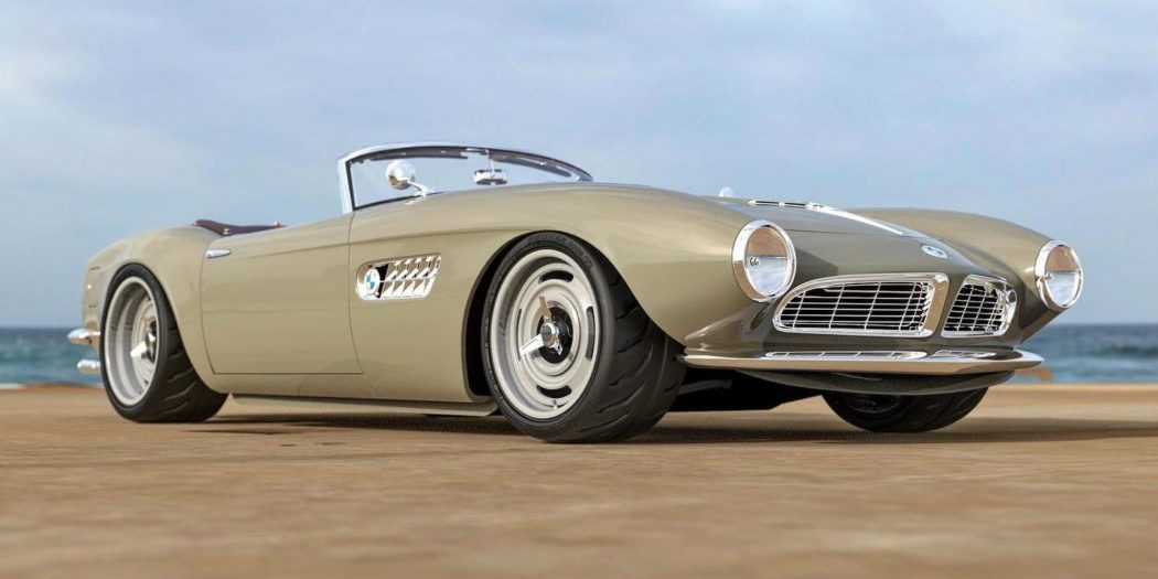 BMW 507 Roadster S62 V8 Restomod Tuning Header 1050x525 Make it real   BMW 507 Roadster mit S62 V8 als Restomod!