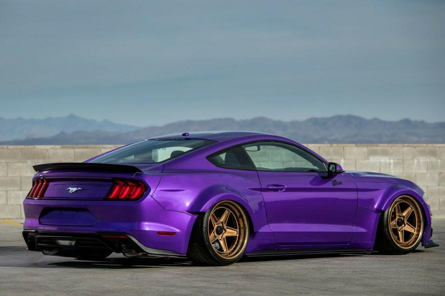 Ford Mustang EcoBoost SEMA Car 2 Violetter Ford Mustang EcoBoost   Vierzylinder SEMA Car!