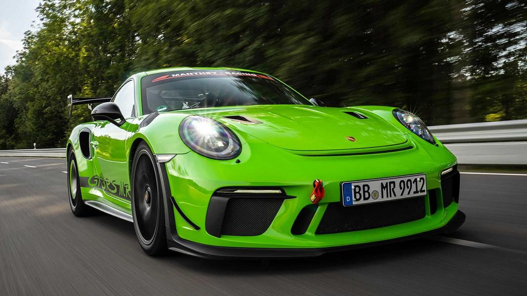 Manthey Racing Porsche 911 GT3 RS MR 991.2 Tuning 11 Aggressiv   Manthey Racing Porsche 911 GT3 RS MR!
