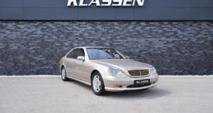 Mercedes S600L W220 S Class Tuning Gold 1 310x165 Worse is always possible! Mercedes S600L (W220) S class!