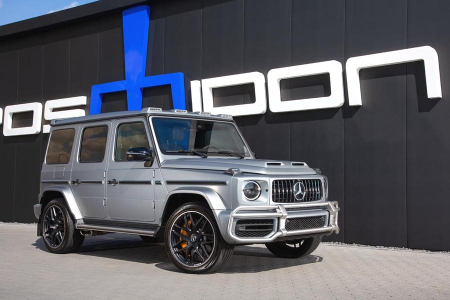 Mercedes W463A POSAIDON G 63 RS 830 Tuning 1 Über G! 940 PS POSAIDON G63 RS 830+ Mercedes G!
