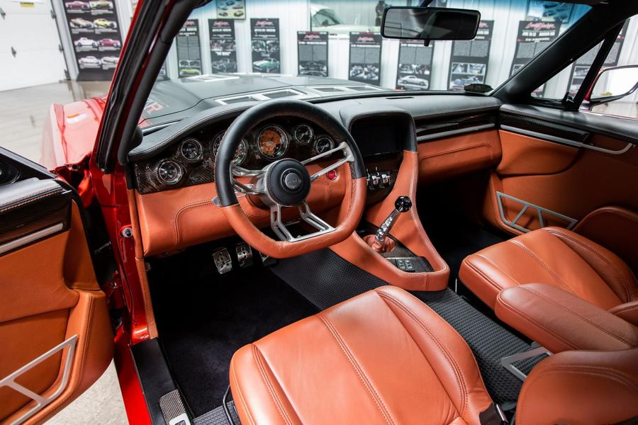 Ringbrothers 1967 Ford Mustang Fastback Copperback Restomod Tuning 17 Ringbrothers 1967 Ford Mustang Fastback Copperback