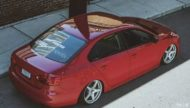 VW Jetta mit Dapper Tuning Airride VMR Wheels 7 190x108 Traum in Rot   VW Jetta mit dezentem Dapper Tuning!