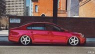 VW Jetta mit Dapper Tuning Airride VMR Wheels 9 190x108 Traum in Rot   VW Jetta mit dezentem Dapper Tuning!