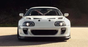 1993 Toyota Supra Mk IV Widebody 2JZ GE Turbo Tuning Header 310x165 Engine exchange: Tesla E drive in a Toyota Supra (JZA80)